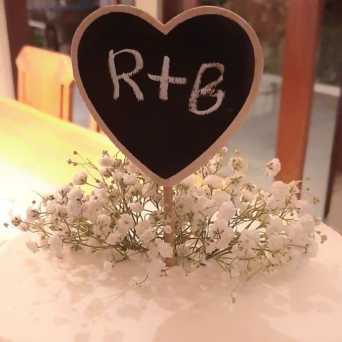 The Wedding Cake Of R + B by Moia Cake - 001