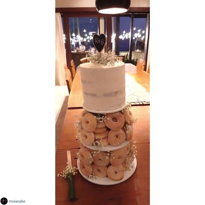 The Wedding Cake Of R + B by Moia Cake - 002