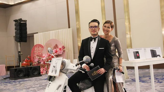 Our Emcees Alvin Tjondro & Eveline Ong by JIEXPO Convention Centre & Theatre - 002