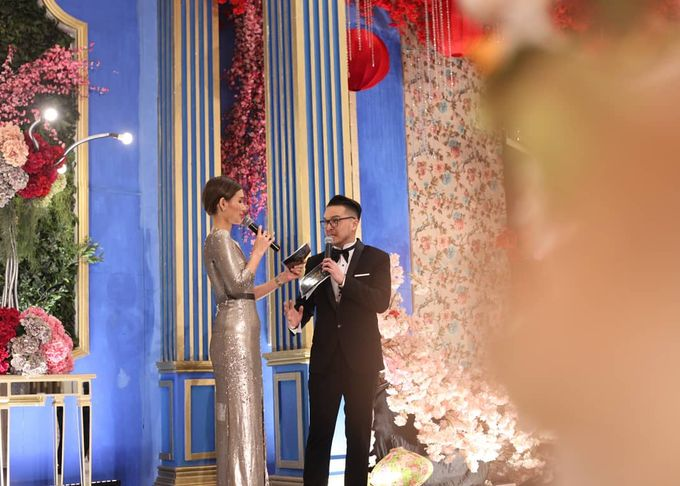 Our Emcees Alvin Tjondro & Eveline Ong by JIEXPO Convention Centre & Theatre - 003