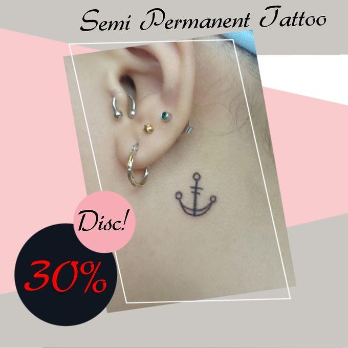 Semi Permanent Tattoo by AngeLin Bridal - 004