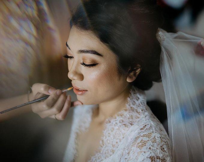 Wedding by CHERIS'H makeup artist - 018