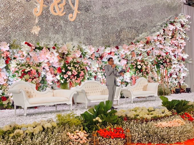 Theresia & Evan Tagor Wedding by Dwi Tunggal Citra Catering - 007