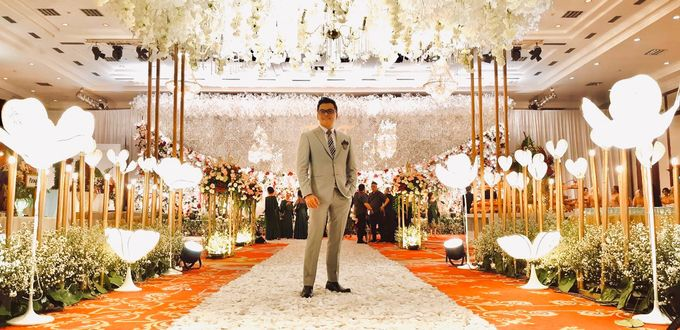 Theresia & Evan Tagor Wedding by Dwi Tunggal Citra Catering - 003