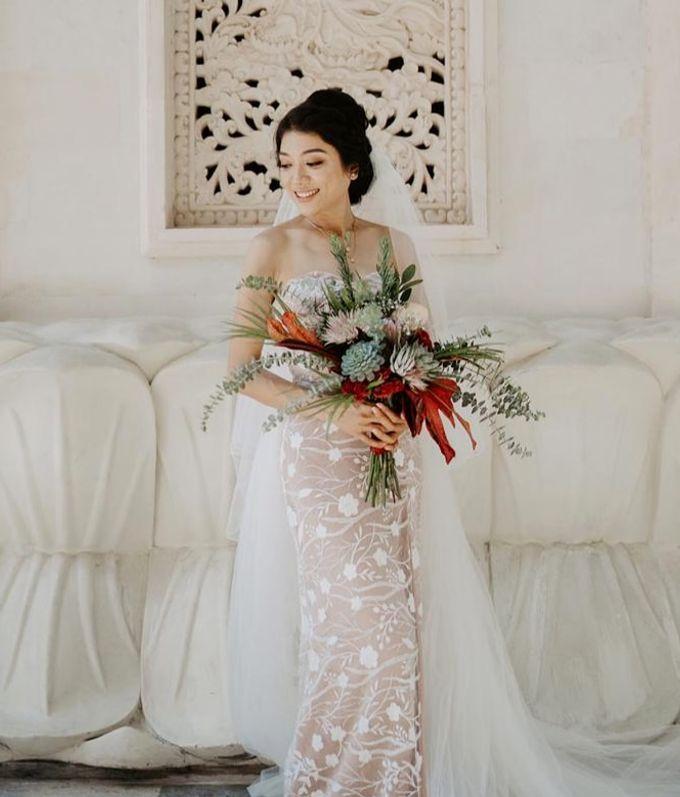 Wedding by CHERIS'H makeup artist - 017