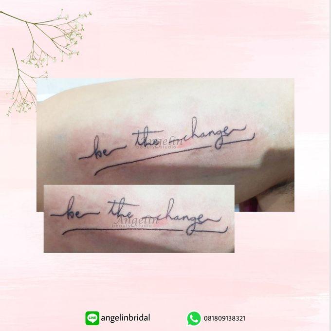 Semi Permanent Tattoo by AngeLin Bridal - 021