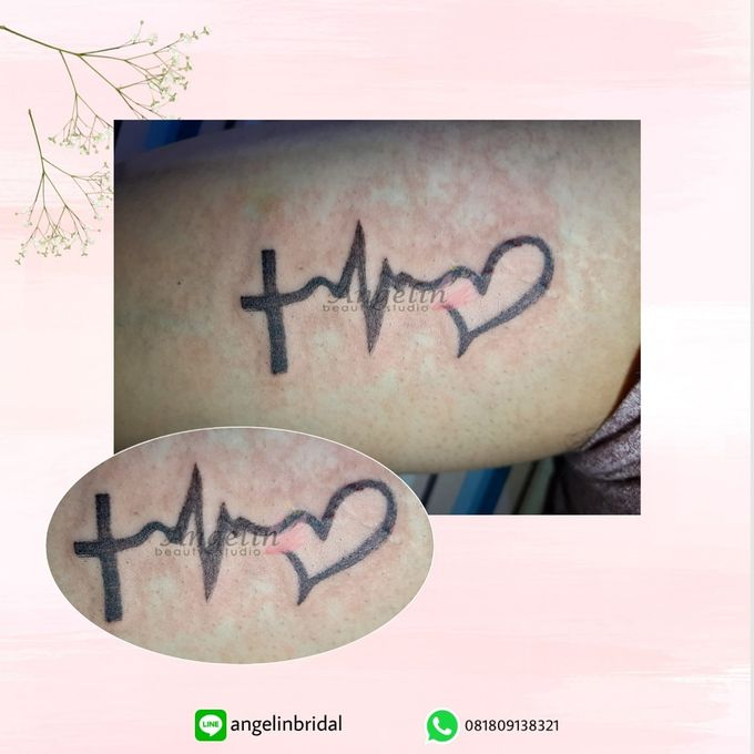 Semi Permanent Tattoo by AngeLin Bridal - 044