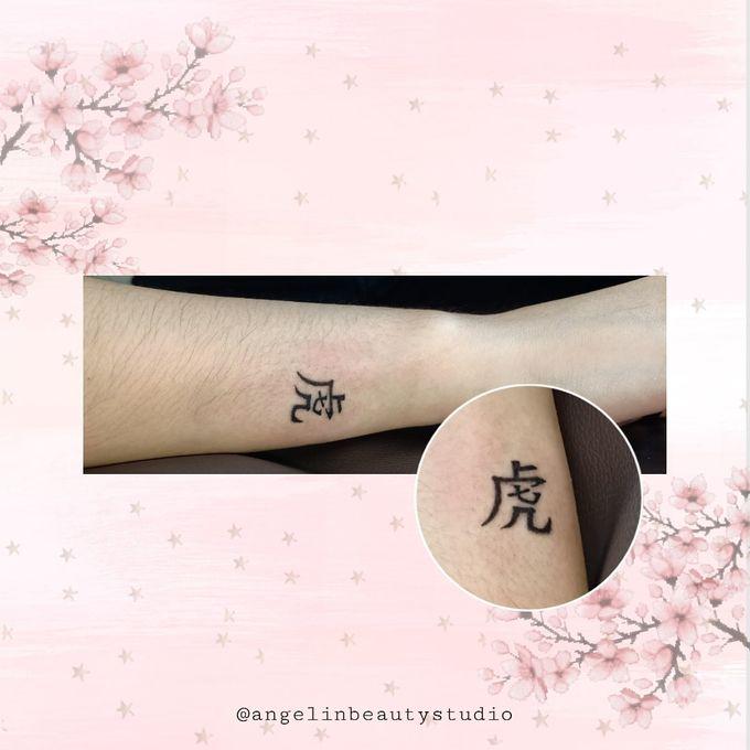 Semi Permanent Tattoo by AngeLin Bridal - 022