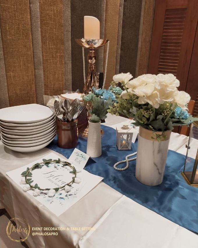Sylviana Bridal Shower by Phalosa Event Decoration & Table Setting - 004