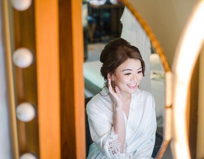 Wedding by CHERIS'H makeup artist - 009