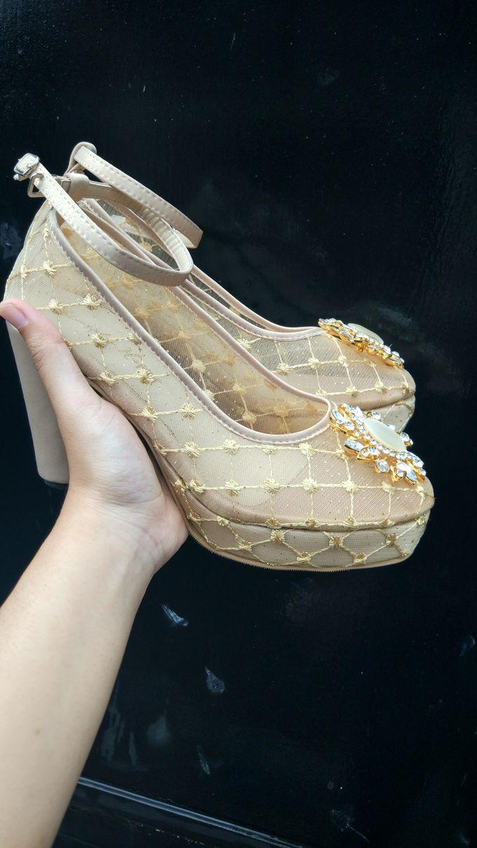 Platform Heels Wedding Shoes by Simply Happy - 001