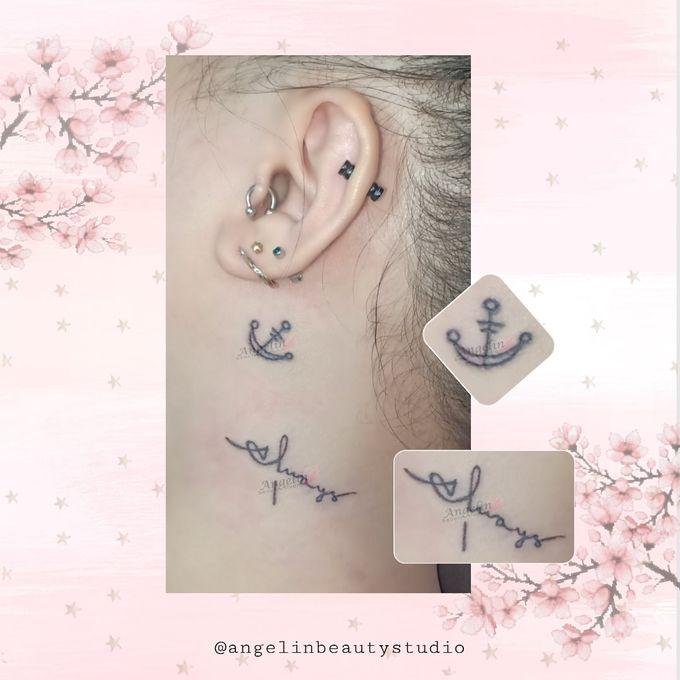 Semi Permanent Tattoo by AngeLin Bridal - 015
