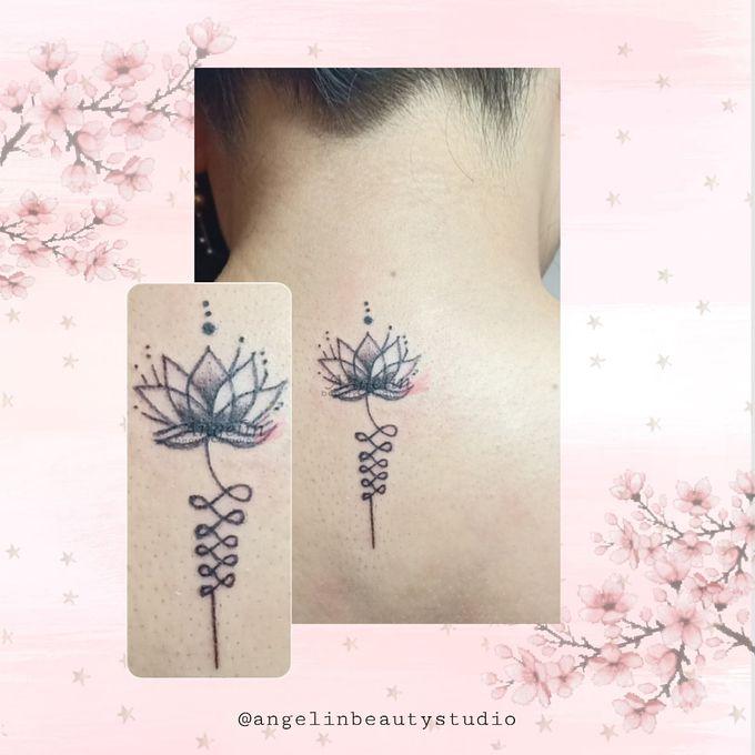 Semi Permanent Tattoo by AngeLin Bridal - 033