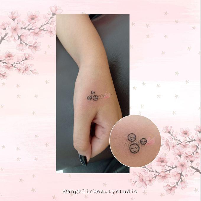 Semi Permanent Tattoo by AngeLin Bridal - 024