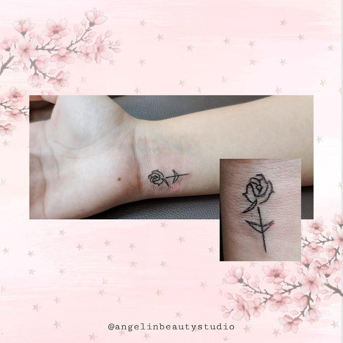 Semi Permanent Tattoo by AngeLin Bridal - 009