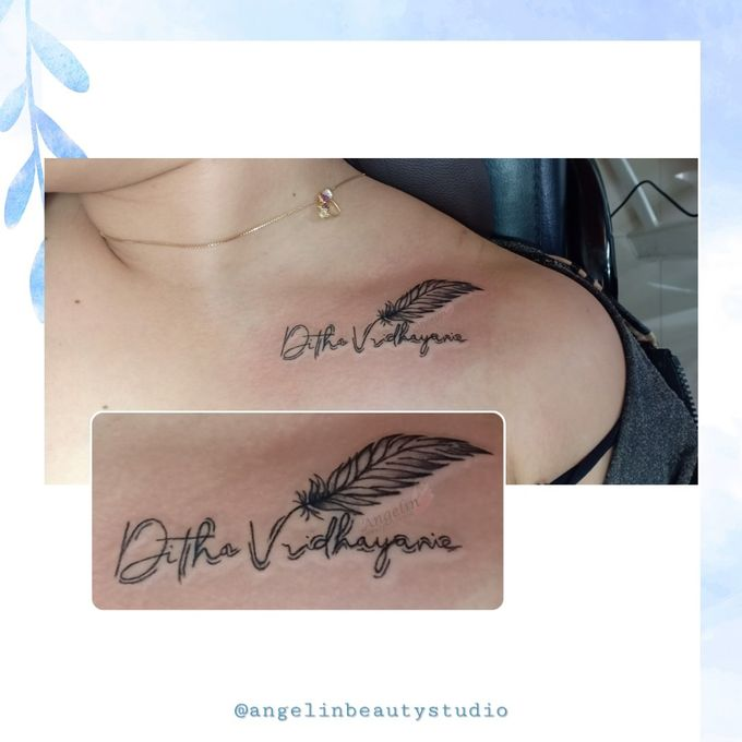 Semi Permanent Tattoo by AngeLin Bridal - 050