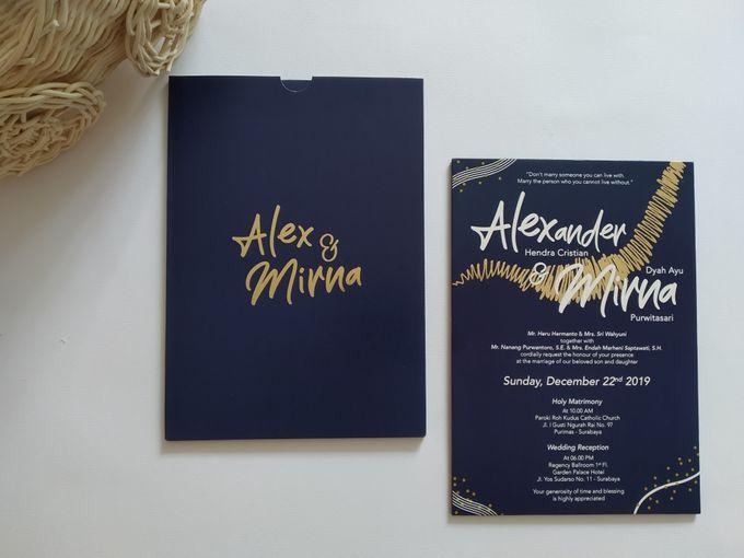 Undangan Alex & Mirna by JN Invitation - 007