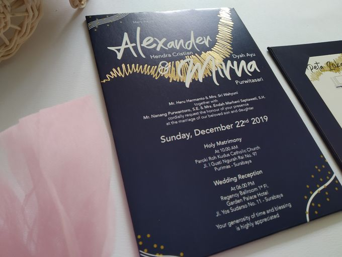 Undangan Alex & Mirna by JN Invitation - 001