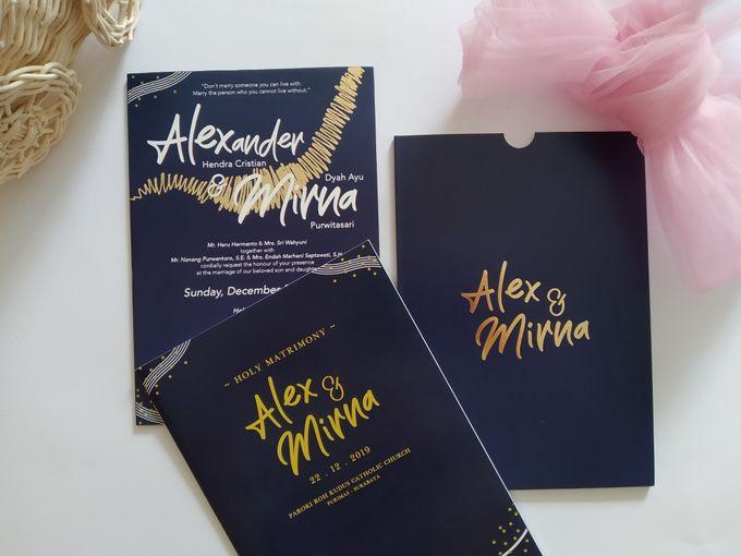 Undangan Alex & Mirna by JN Invitation - 003