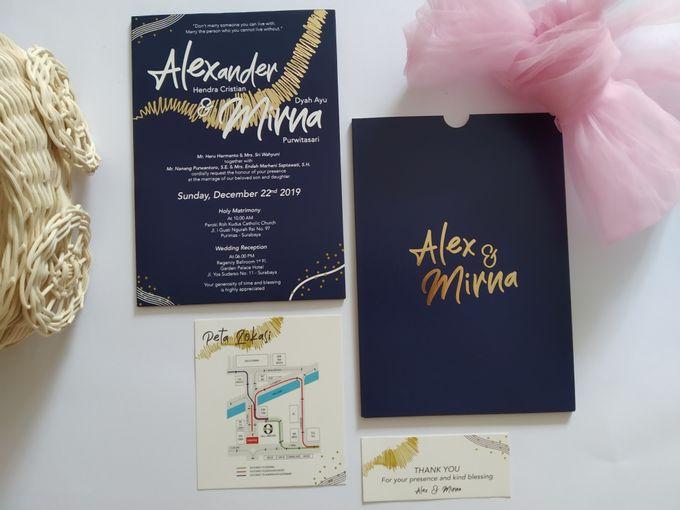 Undangan Alex & Mirna by JN Invitation - 002