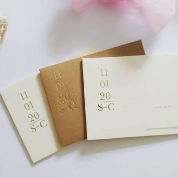 Undangan Pernikahan Steven & Catherine by JN Invitation - 001