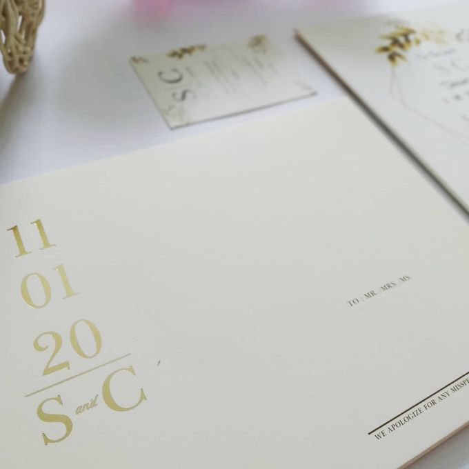 Undangan Pernikahan Steven & Catherine by JN Invitation - 002