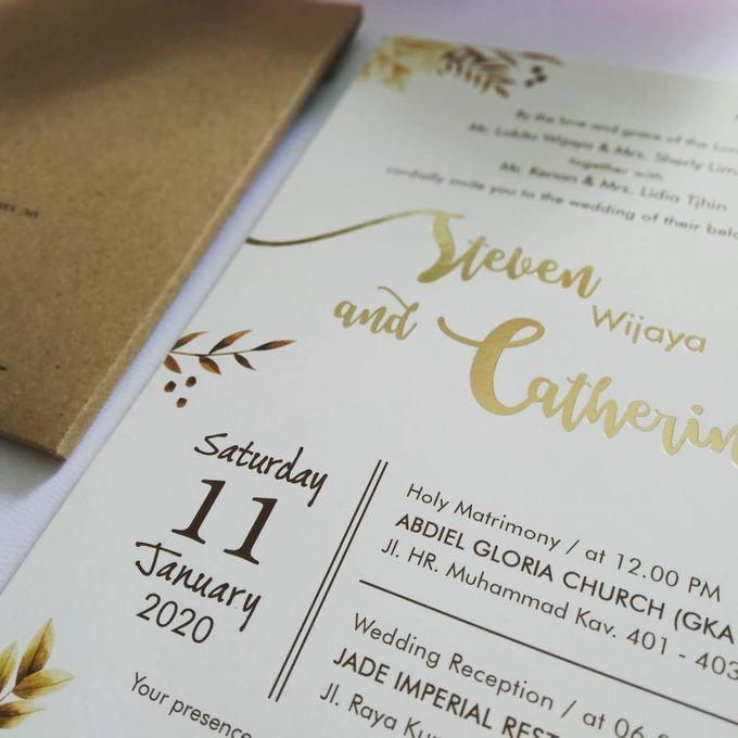 Undangan Pernikahan Steven & Catherine by JN Invitation - 005