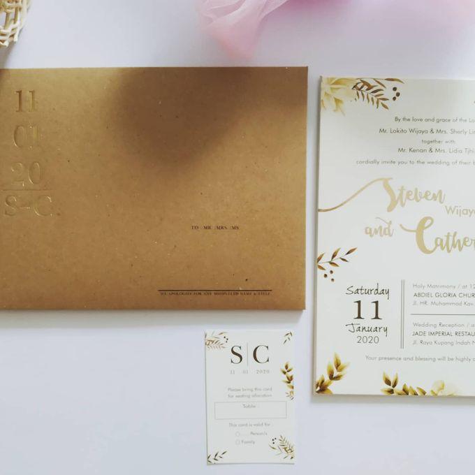Undangan Pernikahan Steven & Catherine by JN Invitation - 007