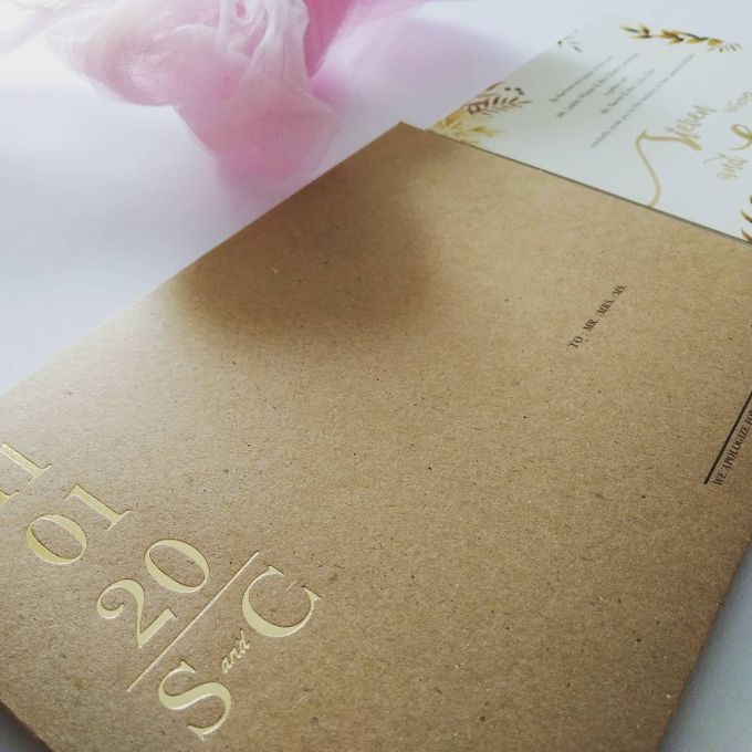 Undangan Pernikahan Steven & Catherine by JN Invitation - 006
