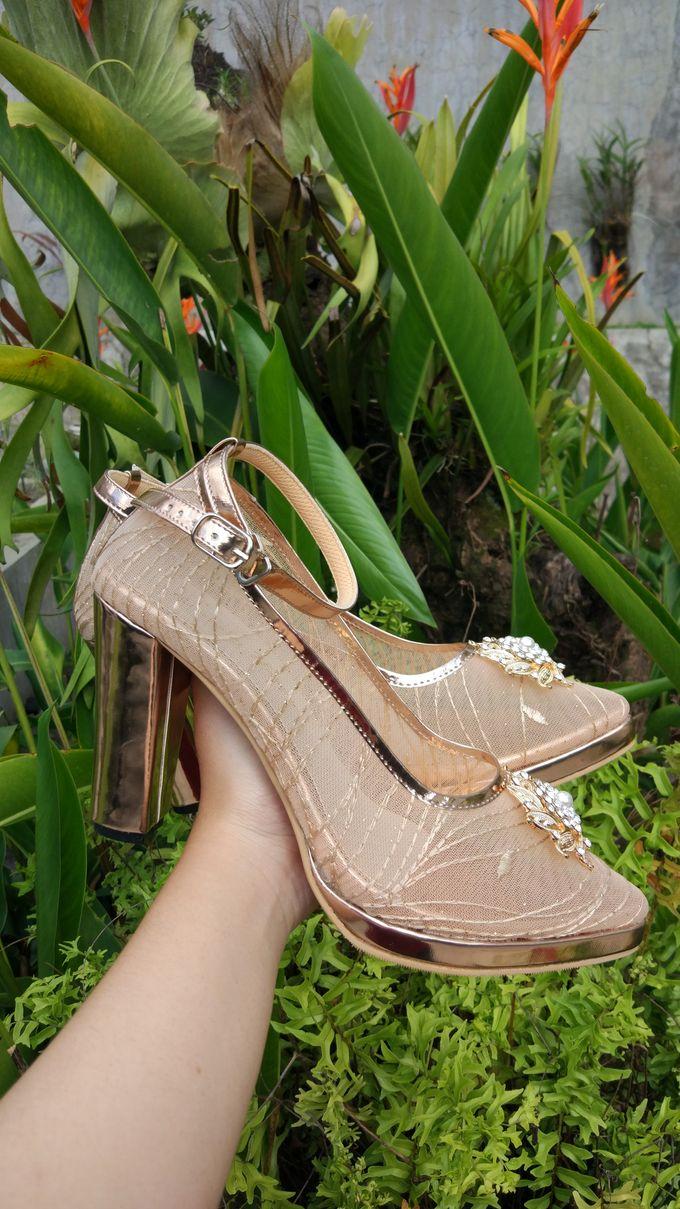 Platform Heels Wedding Shoes by Simply Happy - 005
