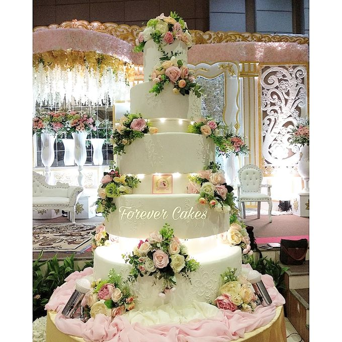 7 Tiers Wedding Cakes by FOREVER CAKE - 004