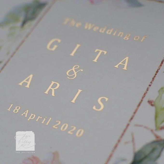 Invitation Mix Mirror - GITA & ARIS by Jogja Wedding Net - 001