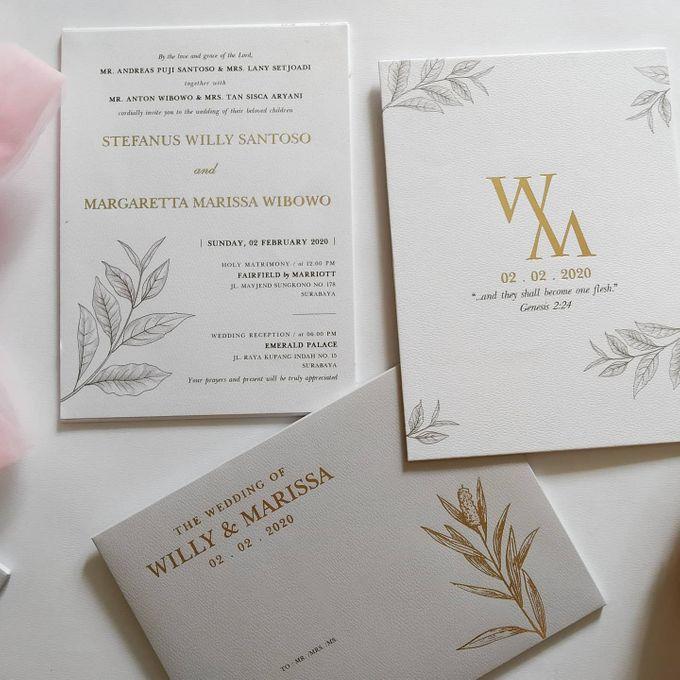 Undangan Willy & Marissa by JN Invitation - 002
