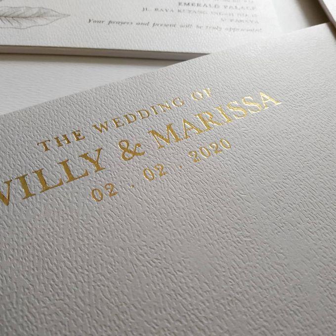 Undangan Willy & Marissa by JN Invitation - 004