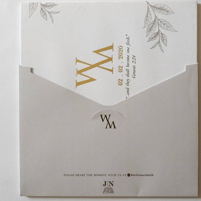 Undangan Willy & Marissa by JN Invitation - 005