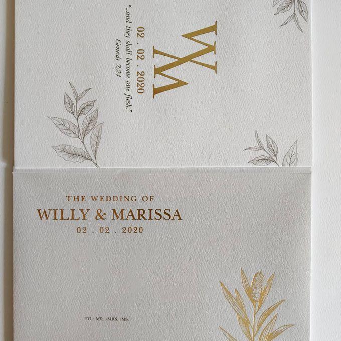 Undangan Willy & Marissa by JN Invitation - 003