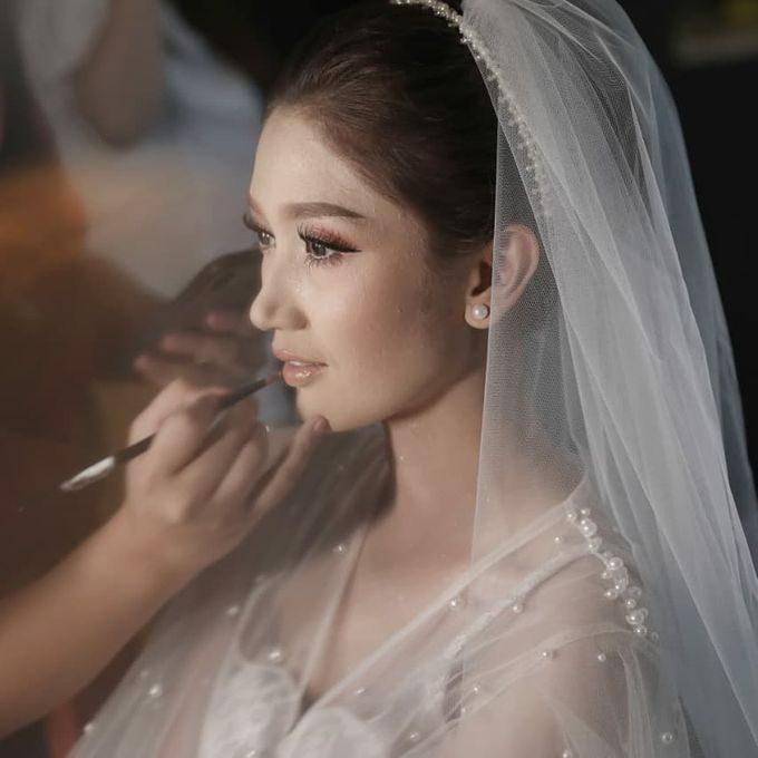 The Wedding Of Ferry & Chika by Treesia Makeup Artist - 017