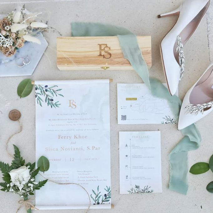 The Wedding Of Ferry & Chika by Treesia Makeup Artist - 005