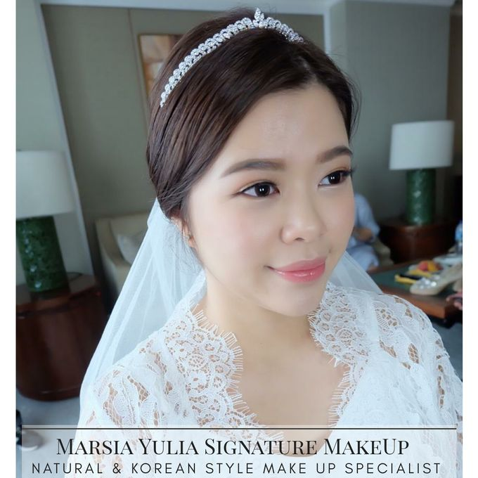 Mrs.S Wedding by Marsia Yulia Signature. Natural and Korean Make Up Specialist. - 001