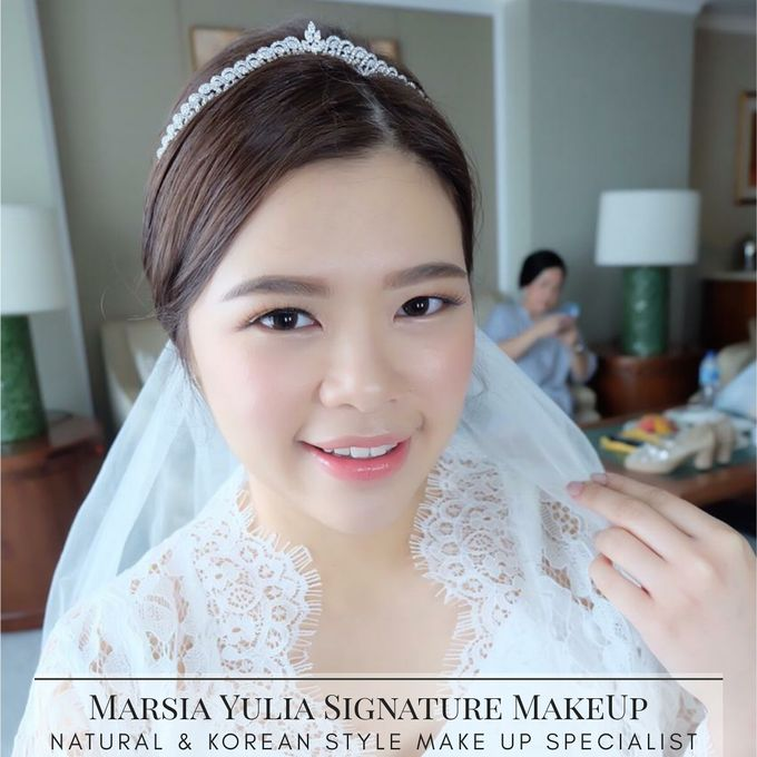 Mrs.S Wedding by Marsia Yulia Signature. Natural and Korean Make Up Specialist. - 002