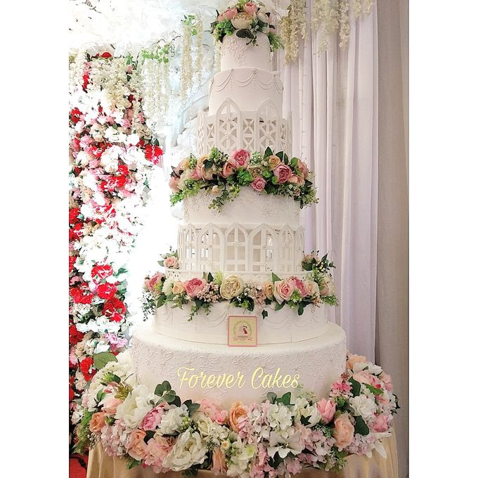 7 Tiers Wedding Cakes by FOREVER CAKE - 002