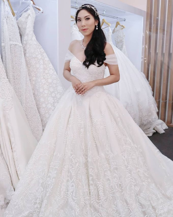 Wedding Gown by MarisaFe Bridal - 001