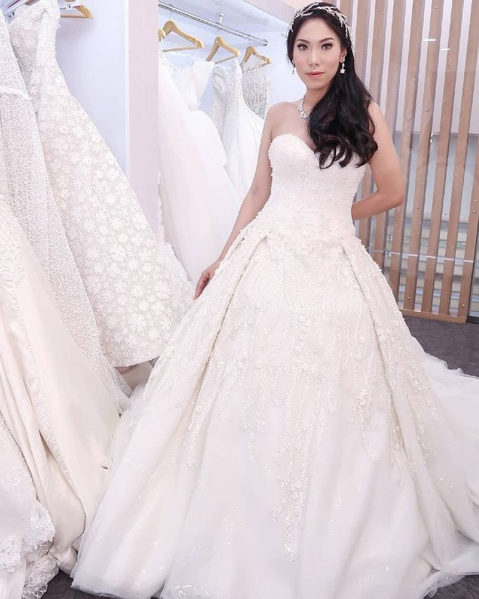 Wedding Gown by MarisaFe Bridal - 003