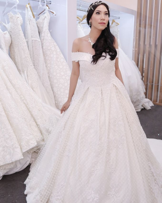Wedding Gown by MarisaFe Bridal - 002