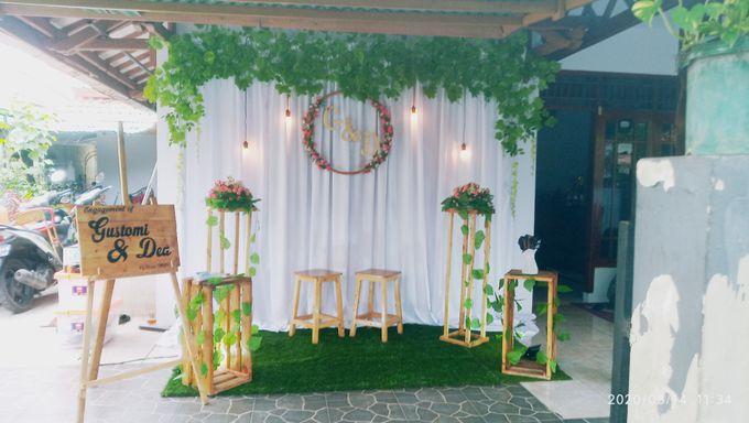 Engagement decoration by Kyukyu organzier - 001