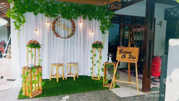 Engagement decoration by Kyukyu organzier - 002