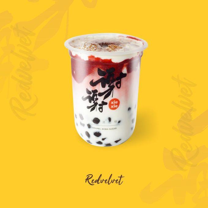 Xie Xie Boba Menu by Xie Xie Boba - 001