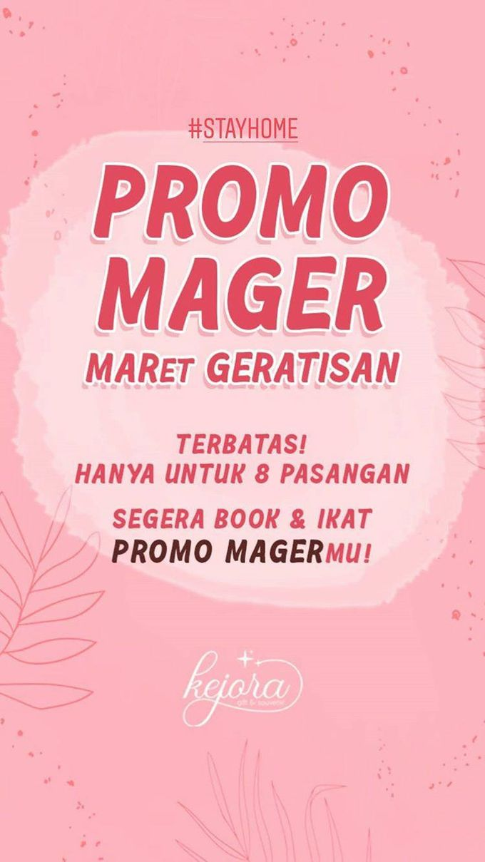 Promo MAGER MAret GERatisan by Kejora Gift & Souvenir - 001