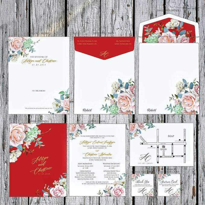 """Our New Design Template """" Promo I """" by Red Card - 003"""