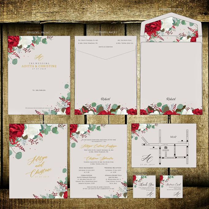 """Our New Design Template """" Promo I """" by Red Card - 002"""